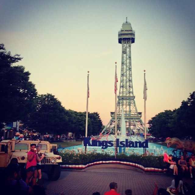 kings island on memorial day