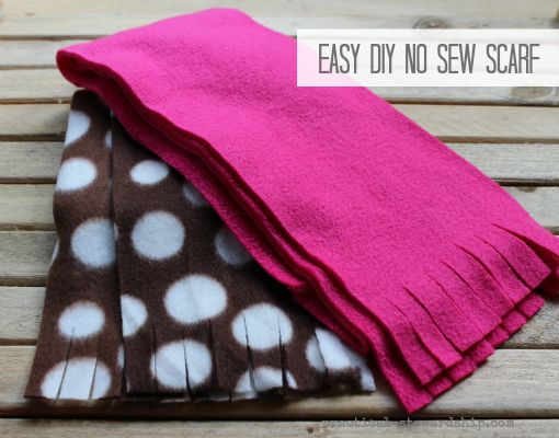 Since we are entering the season of giving I figured I'd share a few DIY posts with you this month starting with a no sew scarf. This is one of the easiest no sew tutorials ever. This would be a great project for kids to put together, too! DIY Time It'sDIY Time , where I...Read More »