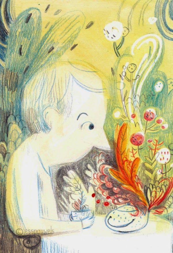 Il·lustracions de Jess Pawles