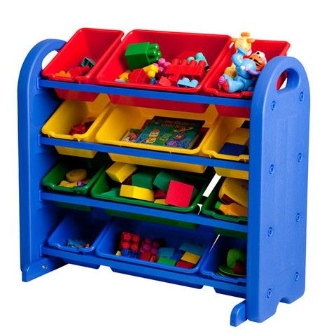 Every classroom and playroom needs a colorful and functional solution for organization. Toys, arts and craft materials, and classroom supplies of any kind will easily fit into the ECR4Kids' 4 Tier Storage Organizer.