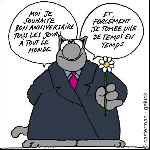 Torchon chat du bout dessinateur