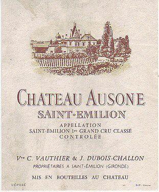 Ausone Saint Emilion