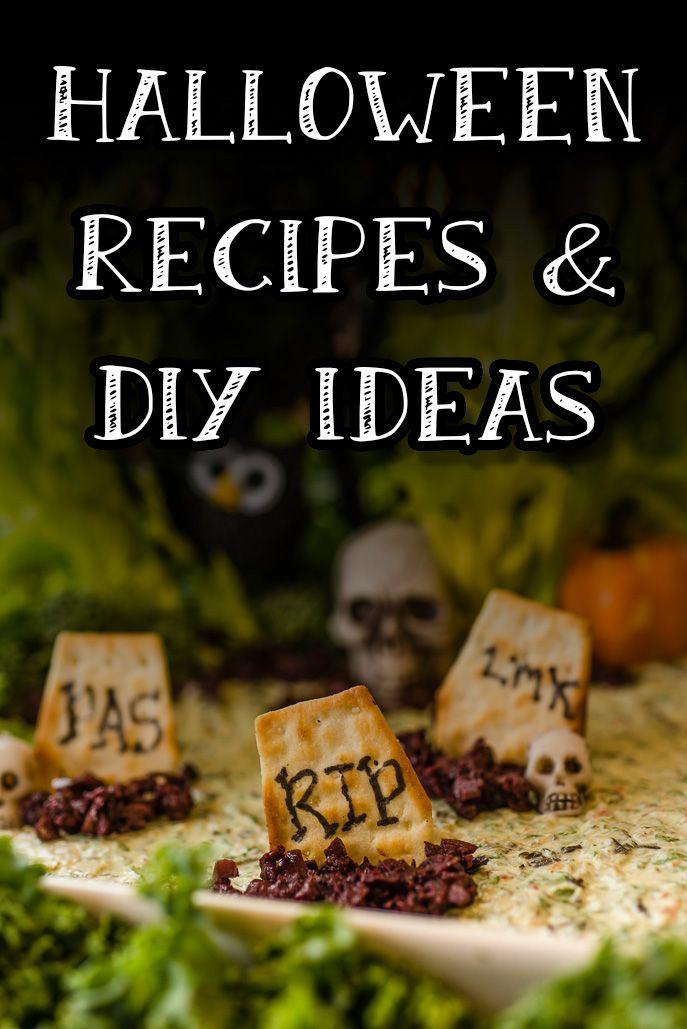 Halloween Recipes & DIY Ideas