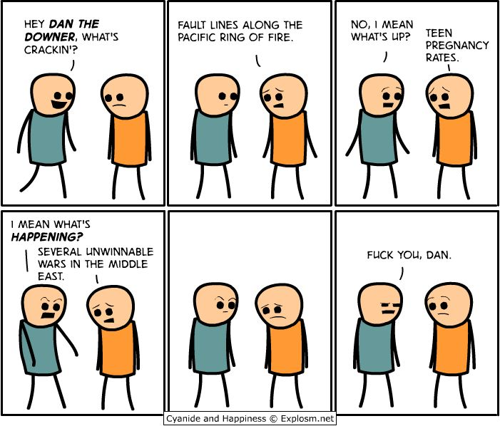 Just a few of my favourite Cyanide and Happiness comics... - Imgur<--sorry for language