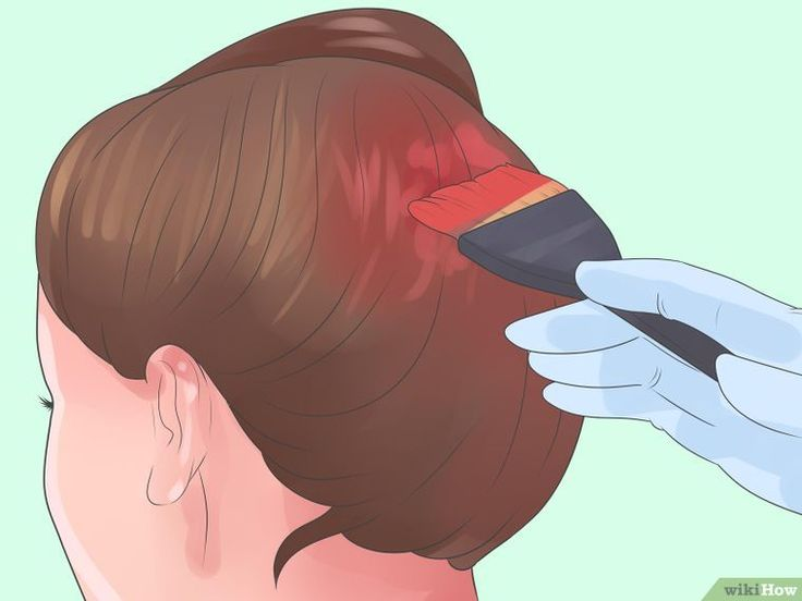 3 Ways to Dye Dark Brown Hair Red Using Natural Products - wikiHow