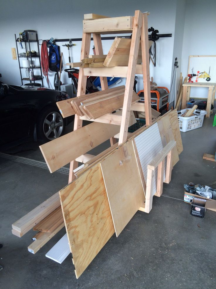 17 Best Images About Lumber Storage On Pinterest Bike