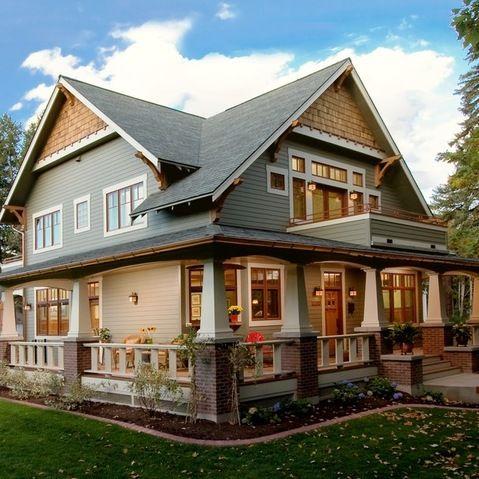 Detailed Craftsman Home - craftsman - exterior - wilmington - WW Builders Design/Build Associates