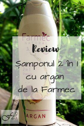 review sampon cu argan 2 in 1 de la Farmec https://femeia25plus.com/2016/06/30/review-samponul-2-in-1-cu-argan-de-la-farmec/