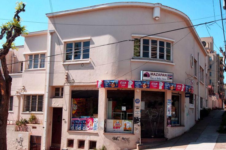 Casa en Recreo de Viña del Mar.  Muchas casas de la zona cuenta con una atractiva arquitectura Art Deco. www.finisnova.com