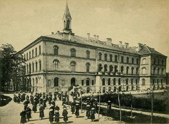 1899. Szent Szív zátda és leányiskola. Ajtósi Dűrer sor 21.
