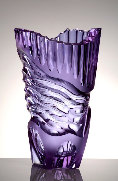 Moser Glass. How I love this vase ! ! !!