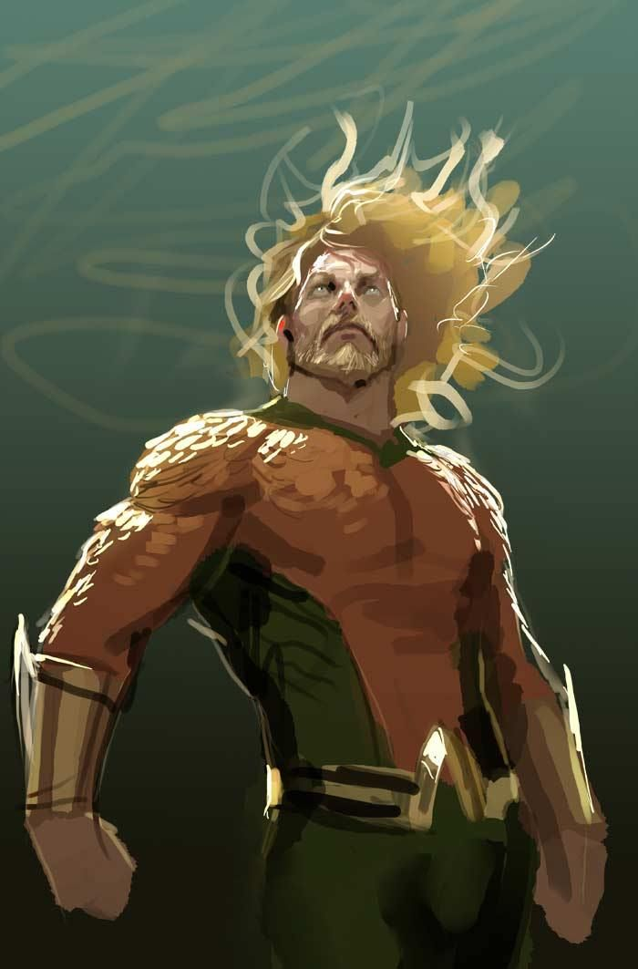 Amazing Aquaman artwork by Stjepan Sejic http://thefanboyseo.com/2017/03/19/witchblade-artist-stjepan-sejic-joins-dcs-aquaman/