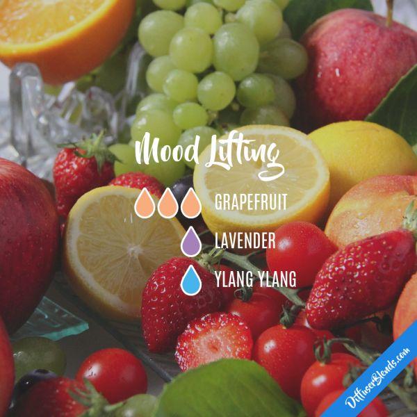 Mood Lifting - Essential Oil Diffuser Blend
