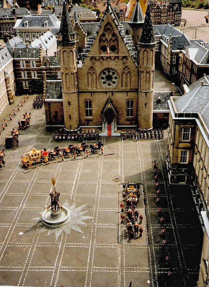 The miniature city of Madurodam, Holland