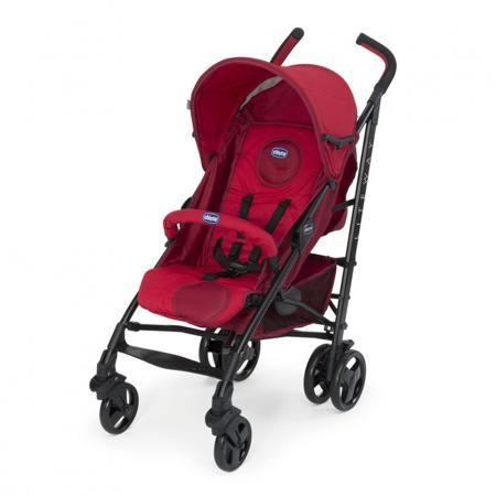 """Chicco Коляска-трость Lite Way Top Stroller Red  — 9199р. ------ Коляска-трость """"Lite Way Top Stroller Red"""" красногоцвета марки Chicco. Коляска Lite Way Top Stroller с бампером - это стильная ультралегкая и компактная коляска-трость с возможностью регулирования спинки до положения лежа, что позволяет использовать ее даже для новорожденных. В основе коляски лежит рама с использованием эллиптических трубок, которые обеспечивают легкость коляски и современный динамичный вид. Коляска снабжена…"""