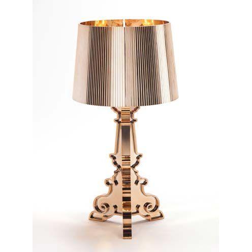 Bourgie Lampe, Kobber, Kartell 2.900,-