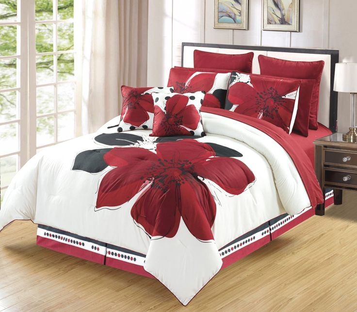 Get Discounts For Your Burgundy Red Colour Bedding Inspiration Now Comforter Sets Black Bed Set Bed Linens Luxury