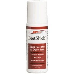 2Toms FootShield 3oz Roll-On Fight moisture and odor on feet. Natural oils work as anti-fungals to combat conditions such as athlete's foot. 2toms.com