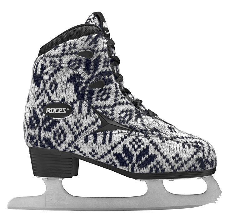 Roces KNIT Ice Skate. Ice Skate Collection 2014/15. #iceskate #Roces #winter #glamour #iceglamour