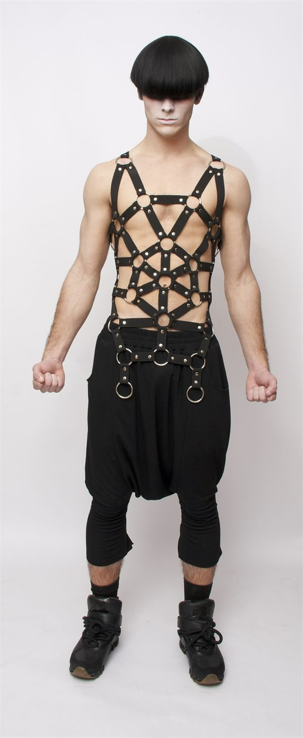 Right! So. Kt so leather harness