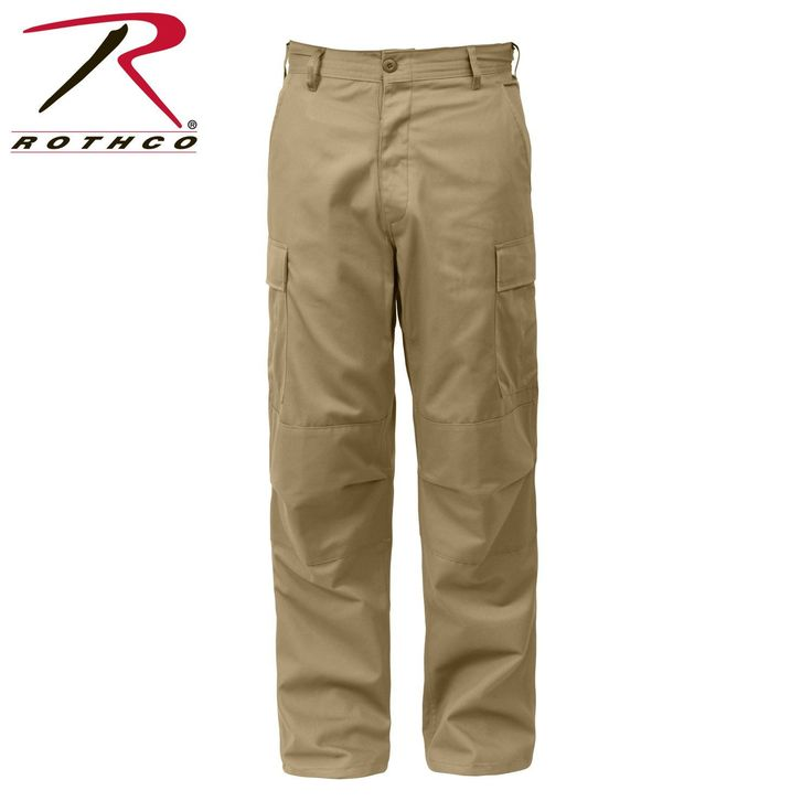 Big & Tall Rothco BDU Pants, Camo, Black, Khaki (2XL – 6XL sizes)