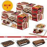 """Allstar Marketing Group PB011106 """"As Seen On TV"""" Perfect Brownie Pan Set (Set of 2)  List Price: $42.28 Discount: $0.00 Sale Price: $42.28"""