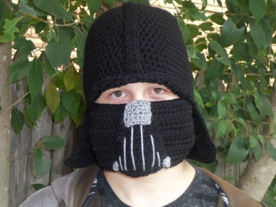 Knitting Pattern Darth Vader Hat : Pin by Wendy Landry on Character hat Pinterest