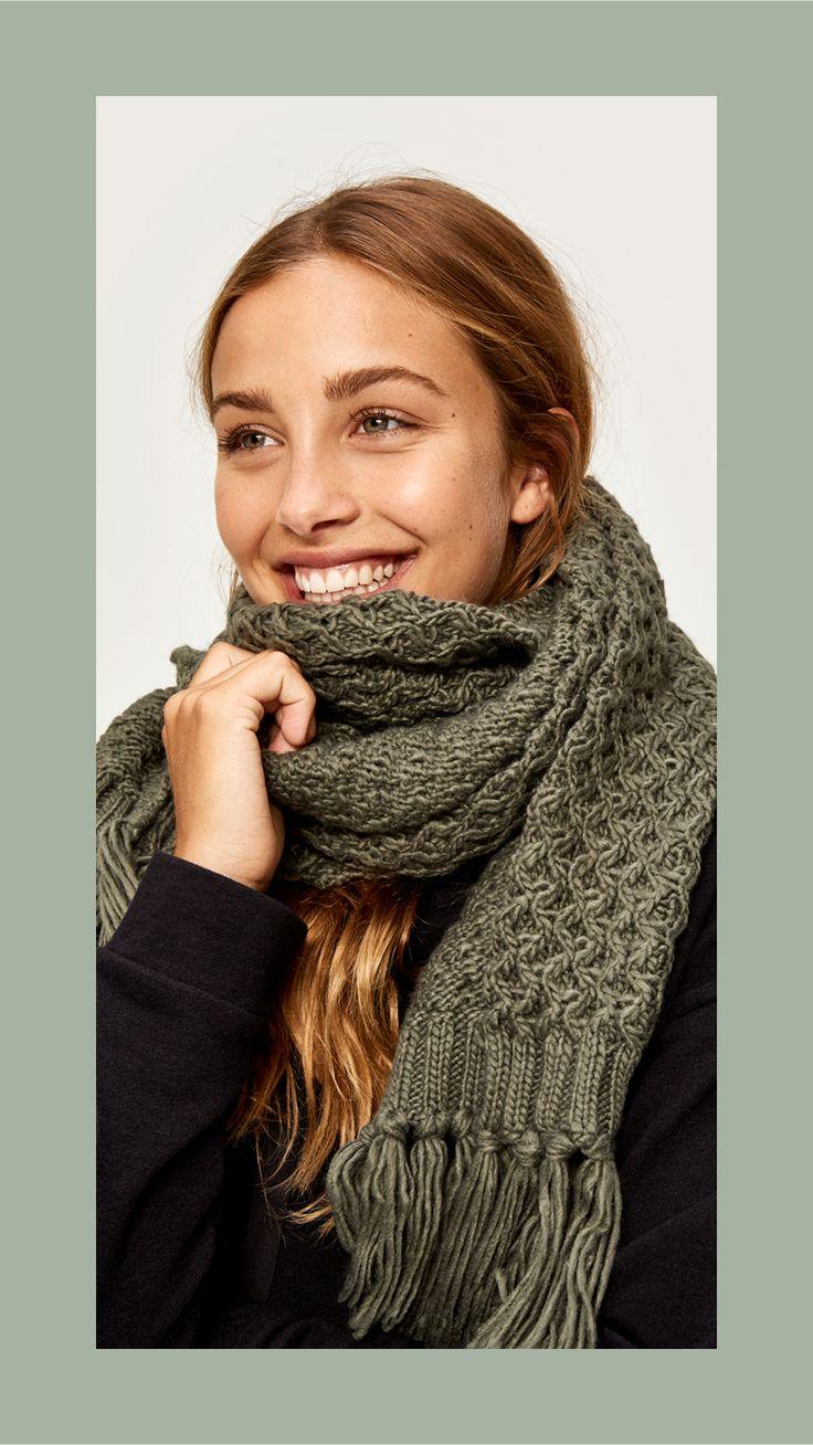 scarf accessories lole Chunky knitwear, Scarf, Womens