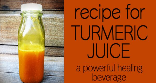 A Recipe For Turmeric Juice A Powerful Healing Beverage