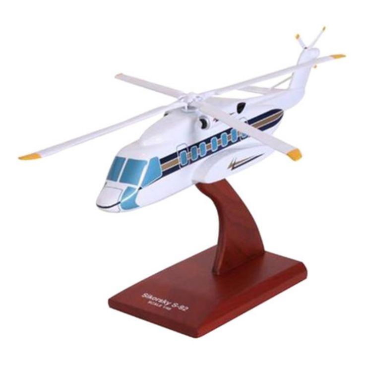 Daron Worldwide Sikorsky S-92 Demonstrator Model Airplane - KS92DTR