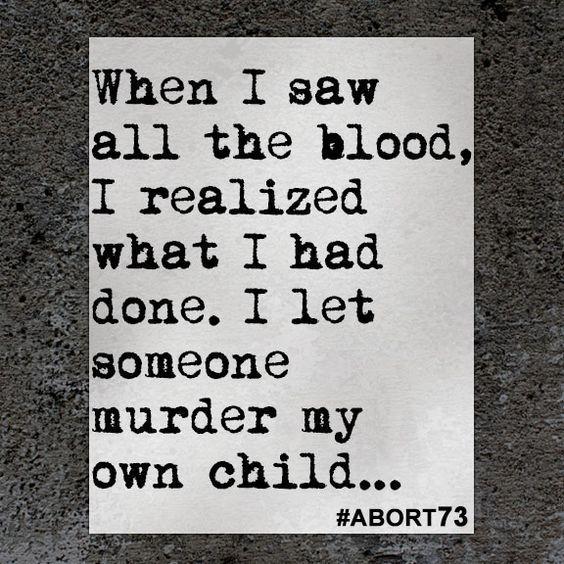 abortion regret testimony