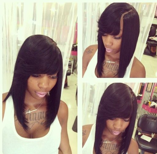 hair styles for straight hairs the 25 best invisible part weave ideas on sew 8357 | 8357bc78fa059e076ad1a84212e41914 styles bob weave styles