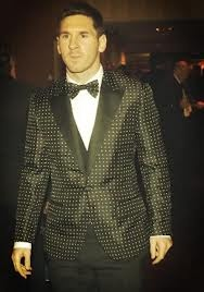 Cool stuff you can use.: Lionel Messi's Suit at the Ballon D'or