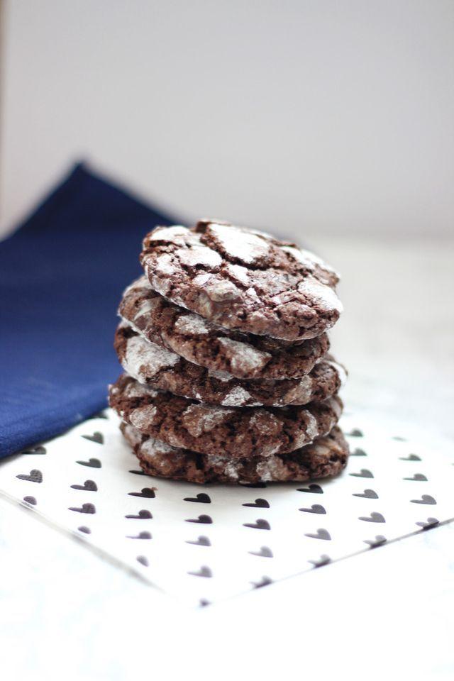Chocolate Crinkle Koekjes
