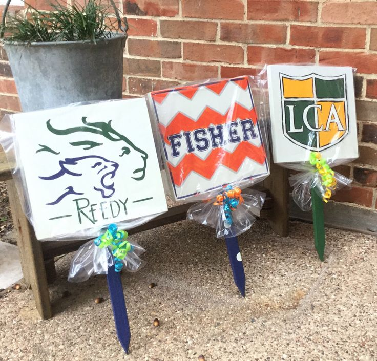 SignForIt has school spirit yard signs! Custom order, send art work before purchasing. Sports teams, cheer, drill teams, band.