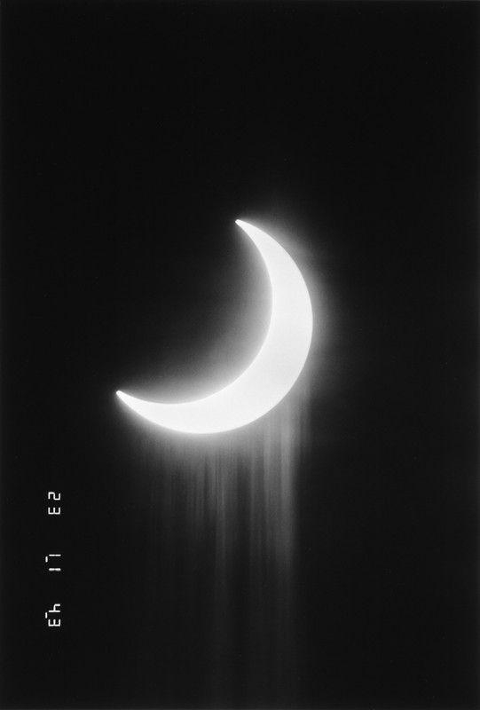 A Partial Eclipse, 1987, by Kikuji Kawada