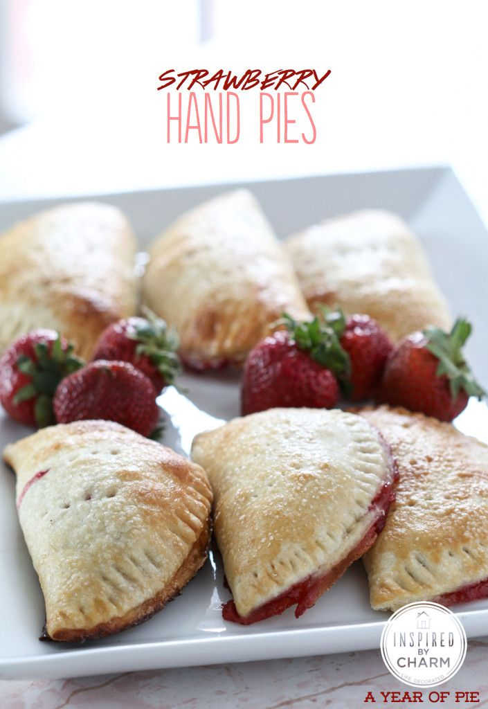 Strawberry Hand Pies   Inspired by Charm