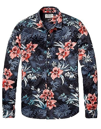 #amazing Men's floral shirts: the wish list