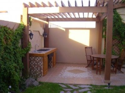17 best images about dise o de jardin on pinterest for Jardines con barbacoa