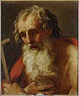 Guido Reni (1575-1642). Saint Jerome. 1590-1620. Oil on canvas. Musei Capitolini, Rome, Italy. http://en.museicapitolini.org   https://www.facebook.com/MuseiCapitolini