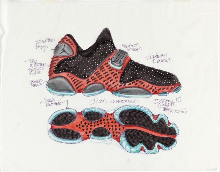 Clear Bottom Nike Shoe Mag