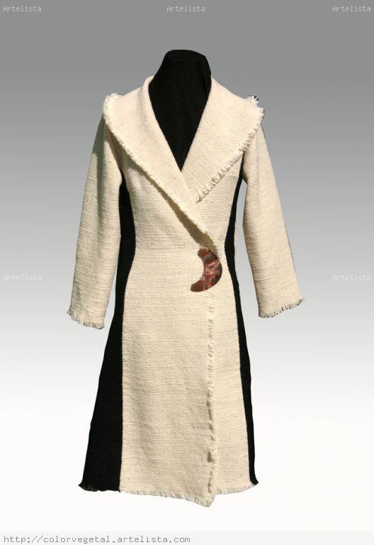 abrigo telar mapuche