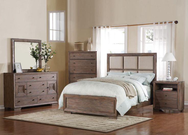 Distressed Wood Bedroom Furniture Sets