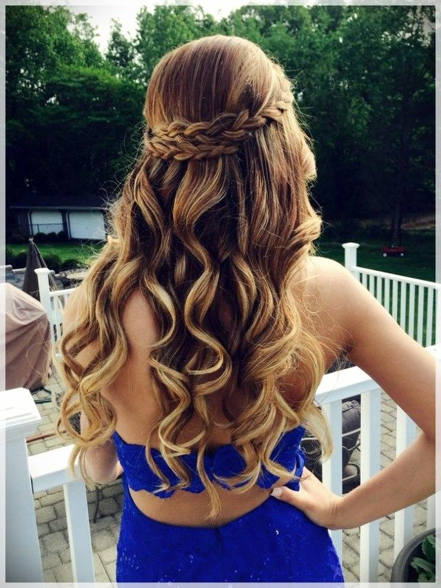 Party Hairstyles 2019 Trends And Photosshort And Curly Haircuts Hair Styles Dance Hairstyles Long Hair Styles