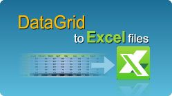 Export DataGrid to Excel file in C# and VB.NET quick and effortless! #Excel #CSharp #VBNET #Export