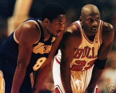 I saw this game in 1997 in a tiny Northern Michigan town.  I knew I was watching a once in a lifetime matchup of greatness vs future greatness. Teacher & Student. Two Leaders. Two men so focused on success as the only option that they were blind to adversity and injury.
