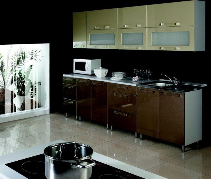 Galaxy - 260 cm-es Blokk konyha.  Fényes és trendi, modern konyha, ami igazi színfoltja lehet az otthonodnak. http://www.knapp.hu/