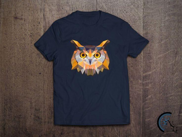 Polygonal Owl T-Shirt