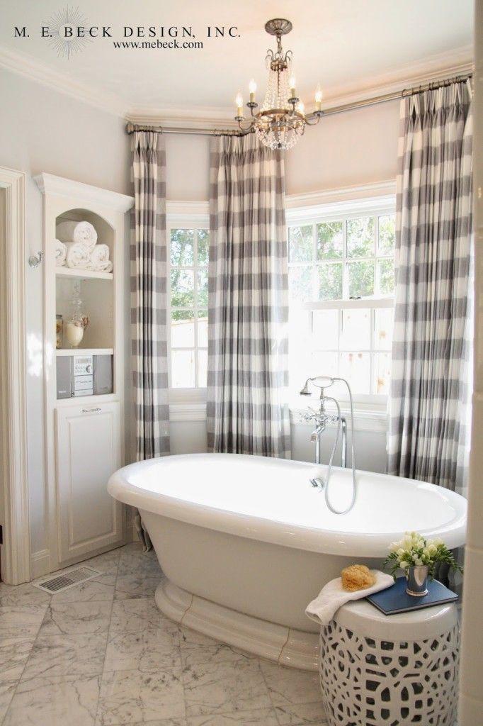 Best 20 buffalo check ideas on pinterest dining room for Hall bathroom ideas