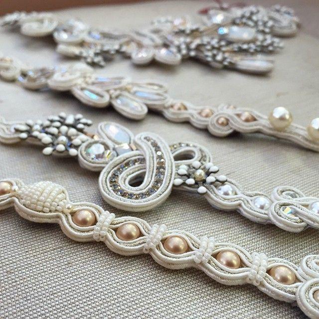 You are so beautiful in white. #Doricsenger #bracelet #white #bridal #wedding…